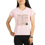 Shakespeare Insults T-shirts & Gifts Performance Dry T-Shirt