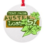 Team Jacob - Austen 51 Round Ornament