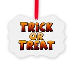Trick or Treat Picture Ornament