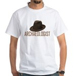 Archaeologist White T-Shirt