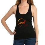 Flying Vampire Bats Racerback Tank Top