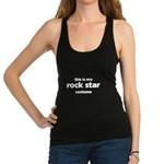 this is my rock star costume Racerback Tank Top
