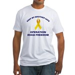 Keep My Brother Safe OIF Fitted T-Shirt