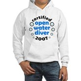 Open Water Diver 2007 Hooded Sweatshirt