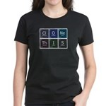 Women's Dark T-Shirt : Sizes Small,Medium,Large,X-Large,2X-Large  Available colors: Black,Red,Caribbean Blue,Violet