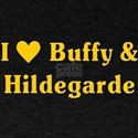 I Love Buffy And Hildegarde Bosom Buddies T-Shirt