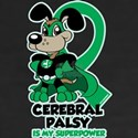 Cerebral Palsy Is My Superpower Women's V-Neck Dar
