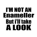 I Am Not Enameller But I Will Take A White T-Shirt