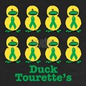 Tourette's Syndrome Ribbon Ducks