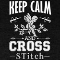 Keep Calm and Cross Stitch T-Shirt