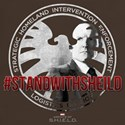 Marvel: Stand with Shield T-Shirt