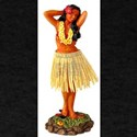 Retro Hula Girl T-Shirt