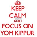 Keep Calm and focus on Yom Kippur T-Shirt