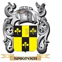 Simkovich Coat of Arms - Family Crest T-Shirt