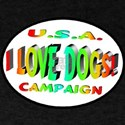 I Love Dogs Campaign T-Shirt