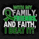 Liver Cancer Survivor FamilyFriendsFa T-Shirt
