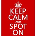Keep Calm and Spot On T-Shirt