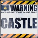 Warning: Castle T-Shirt