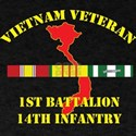 1st Battalion 14th Infantry T-Shirt