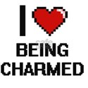 I love Being Charmed Digitial Design T-Shirt