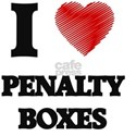 I Love Penalty Boxes T-Shirt