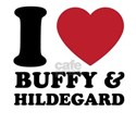 I love buffy and hildegard T-Shirt