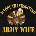 army wife happy thanksgiving T-Shirt