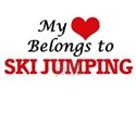 My heart belongs to Ski Jumping T-Shirt