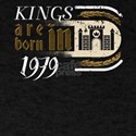 Gothic Birthday Kings Castle Born 1979 T-Shirt