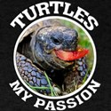turtles my passion turtles amphibian T-Shirt