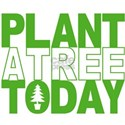 Plant a Tree Today White T-Shirt