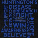 Huntingtons Disease Awareness Quote T-Shirt