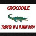 Crocodile trapped in a human body T-Shirt