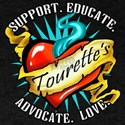 Tourette's Tattoo Heart