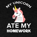 My Unicorn ate my homework Back to School T-Shirt