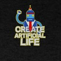 Create Artificial Life Cute Bad Bot Roboti T-Shirt