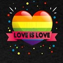 "Gay Lesbian ""Love is Love"" Rainb T-Shirt"