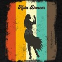 Hula Dancer Retro 70s Vintage Hula Dancing T-Shirt