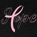 Hope Breast Cancer Ribbon T-Shirt