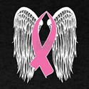 Winged Awareness Ribbon (Pink) T-Shirt