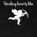 Valentine Stealing Hearts Like Cupid T-Shirt