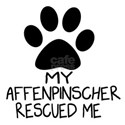 Affenpinscher Rescued Me Shirt