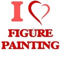 I Love Figure Painting T-Shirt