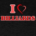 I Love Billiards T-Shirt