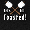 Let's Get Toasted Marshmallow Camping T-Shirt