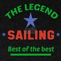 The Legend Sailing Sports Designs T-Shirt
