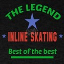 The Legend Inline Skating Sports Desi T-Shirt