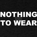 'Nothing to Wear' Black T-Shirt