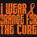 I Wear Orange For The Cure 16 Dark T-Shirt