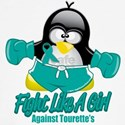 Tourette's Syndrome Fighting Penguin